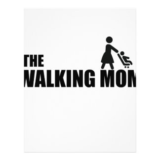 The Walking Mom Letterhead