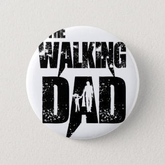 The Walking Mom Pinback Button