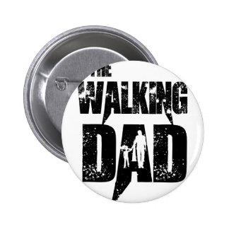 The Walking Mom Pinback Button