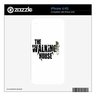The Walking Nurse Skin For iPhone 4