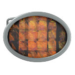 The Wall Abstract Art Belt Buckles