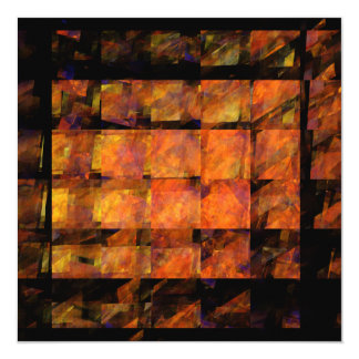 The Wall Abstract Art Card
