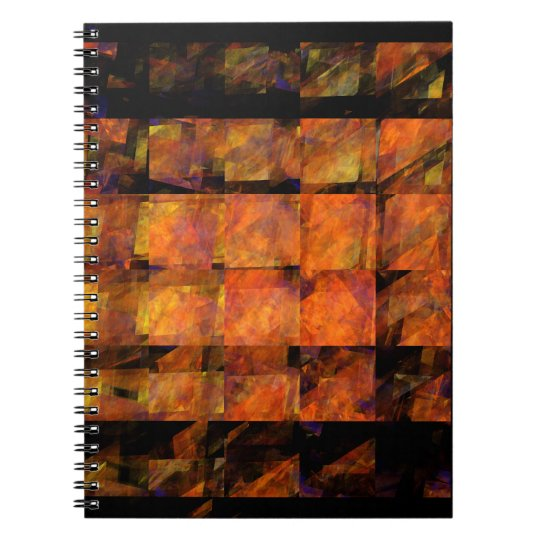 The Wall Abstract Art Notebook