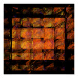 The Wall Abstract Art Print