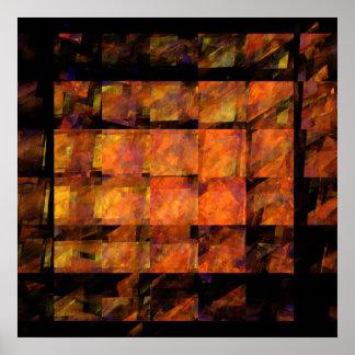 The Wall Abstract Art Print