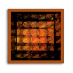 The Wall Abstract Art Square Envelope