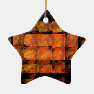 The Wall Abstract Art Star Ornament