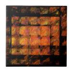 The Wall Abstract Art Tile