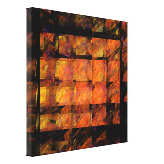The Wall Abstract Art Wrapped Canvas Print