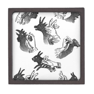 The Wall Hand Shadows Gift Box