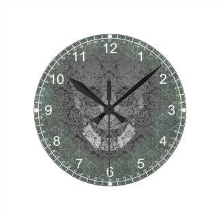 the wall has eyes round clock