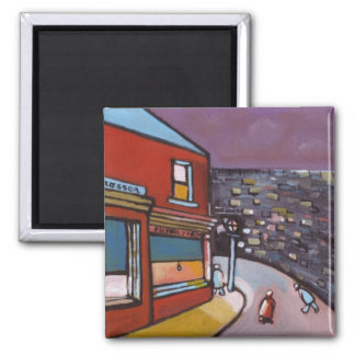 (The wall..... Magnet) 2 Inch Square Magnet