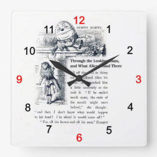 """The wall-mounted clock """"of Alice of country of mir"""