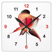 The wall-mounted clock of Asian Arowana, No.01-2