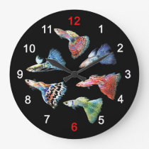 The wall-mounted clock of Guppy