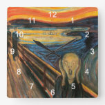 'The wall-mounted clock of The Scream' of Edvard M