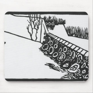 The wall mouse pad
