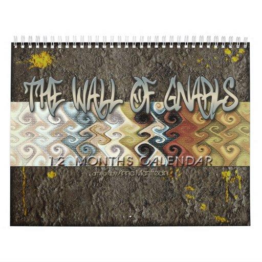 The Wall of Gnarls Calendar