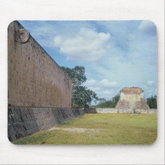 The wall of the Ball Court Mouse Pad