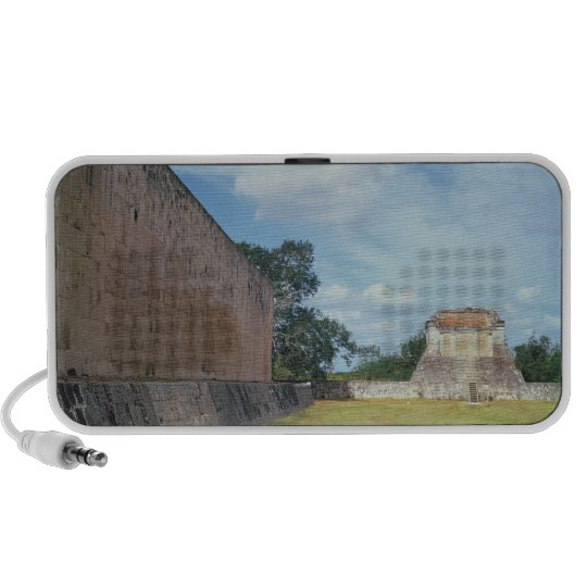 The wall of the Ball Court Portable Speaker