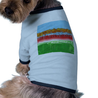 The Wall of Trees Pet Shirt