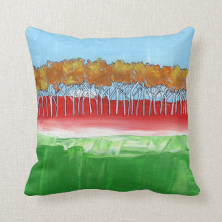The Wall of Trees Pillow