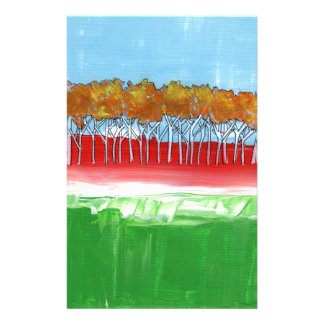The Wall of Trees Stationery