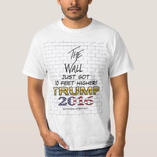 The Wall of Trump 2016 shirt