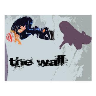 The Wall Postcard