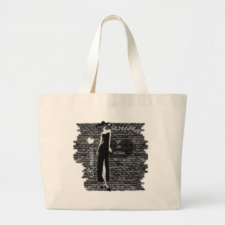 The Wall Series Large Tote Bag