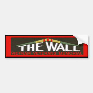 THE WALL STICKER CAR BUMPER STICKER