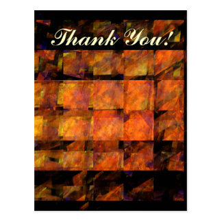The Wall Thank You Postcard