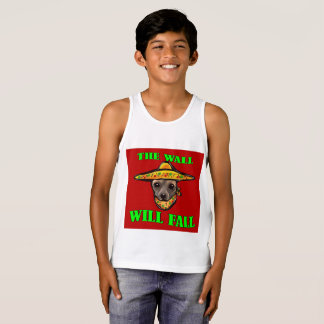 THE WALL WILL FALL TANK TOP