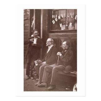The Wall Worker, 1876-77 (woodburytype) Postcard