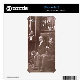 The Wall Worker, 1876-77 (woodburytype) Skin For iPhone 4