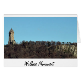 The Wallace Monument Card