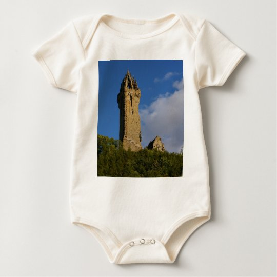 The Wallace Monument Stirling Scotland Baby Bodysuit