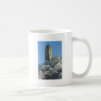 The Wallace Monument Stirling Scotland in winter Coffee Mugs