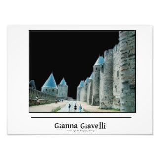 The Walls of Carcasonne France Photo Print