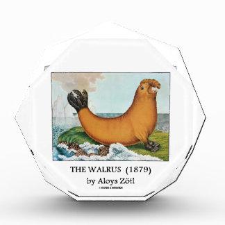 The Walrus (1879) by Aloys Zötl Acrylic Award