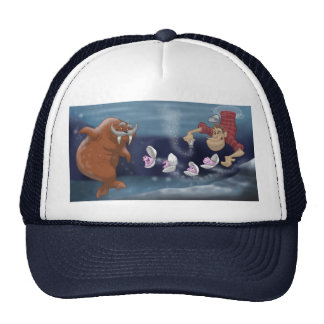 The Walrus and the Carpenter Cap Mesh Hats