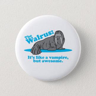 The Walrus Vampire Button