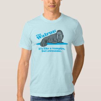 The Walrus Vampire T Shirt