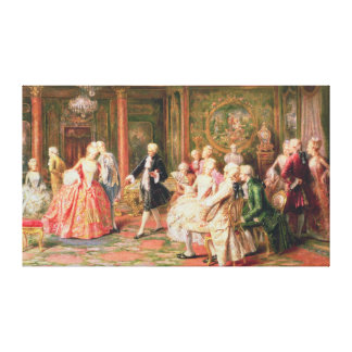 The Waltz Canvas Print