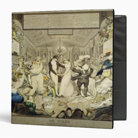 The Waltz (coloured engraving) Binder