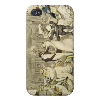 The Waltz (coloured engraving) Cases For iPhone 4