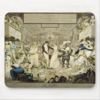 The Waltz (coloured engraving) Mouse Pad
