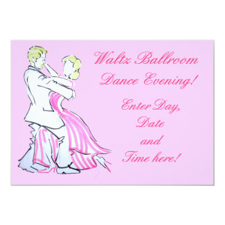 The Waltz Dancers Graphic design Card