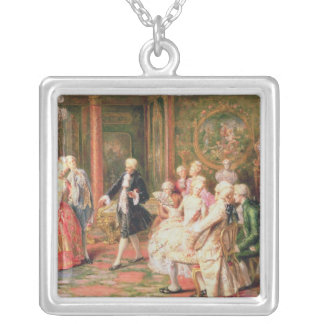 The Waltz Silver Plated Necklace