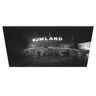 The Waltzers Canvas Print
